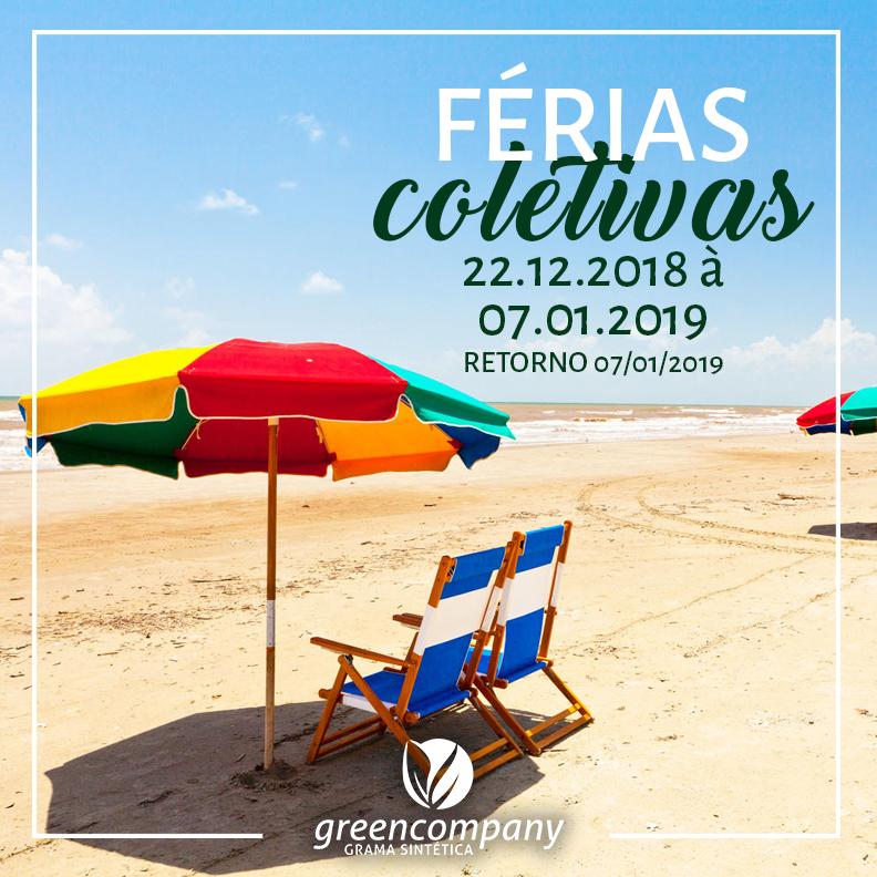 Férias Coletivas - GreenCompany